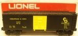 Lionel 6-9715 Chesapeake & Ohio Boxcar LN/Box