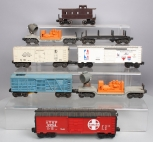 Lionel O Gauge Assorted Postwar and MPC Freight Cars (8)