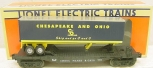 Lionel 6-16922 Chesapeake and Ohio Flatcar with Trailer NIB
