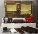Lionel 8-81000 Gold Rush Special Steam Freight Train Set/Box