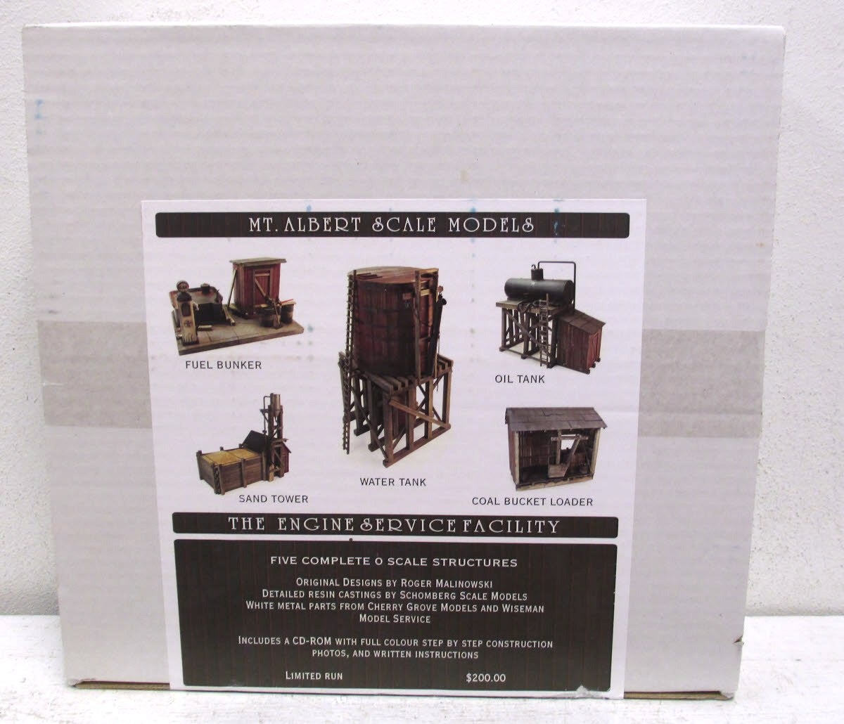 Buy Mt  Albert Scale Model Kit K-03 Five Complete O Scale Structures