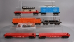 Lionel O Scale Assorted Postwar Freight Cars; 3357, 3651, 6825, 3562-75, 6650 [6