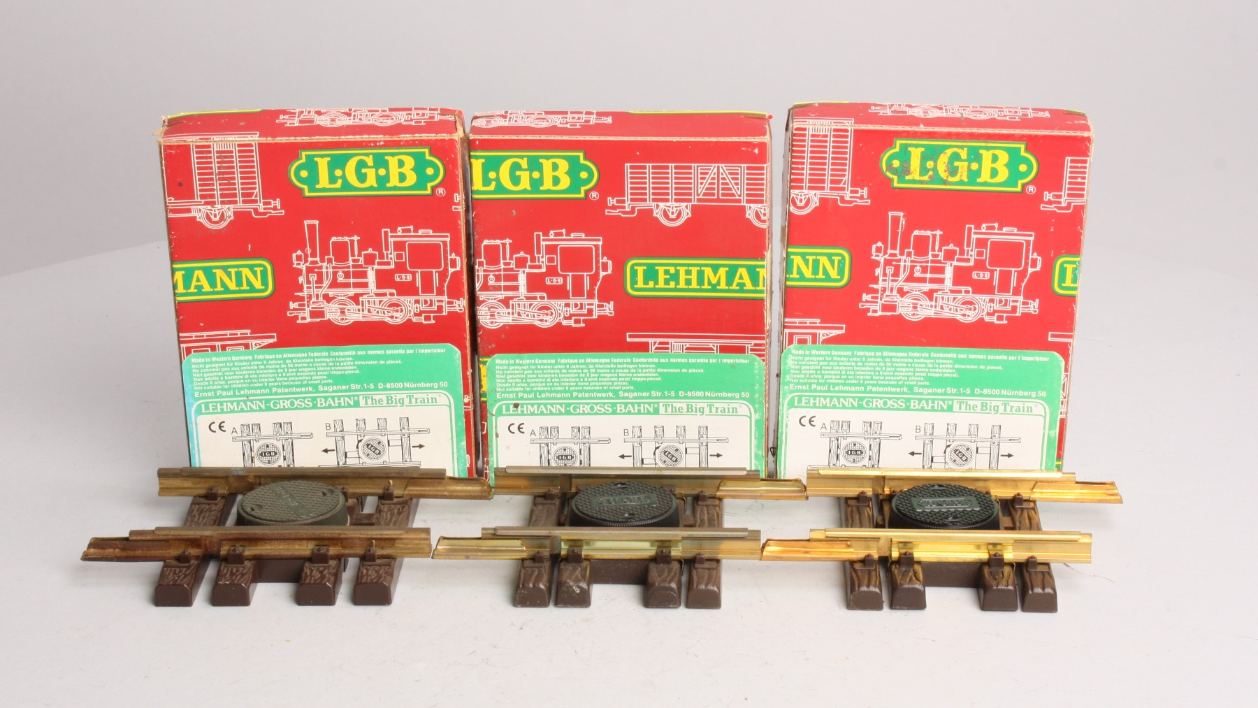 Buy LGB 1009 Expandable Track (3) EX/Box | Trainz Auctions