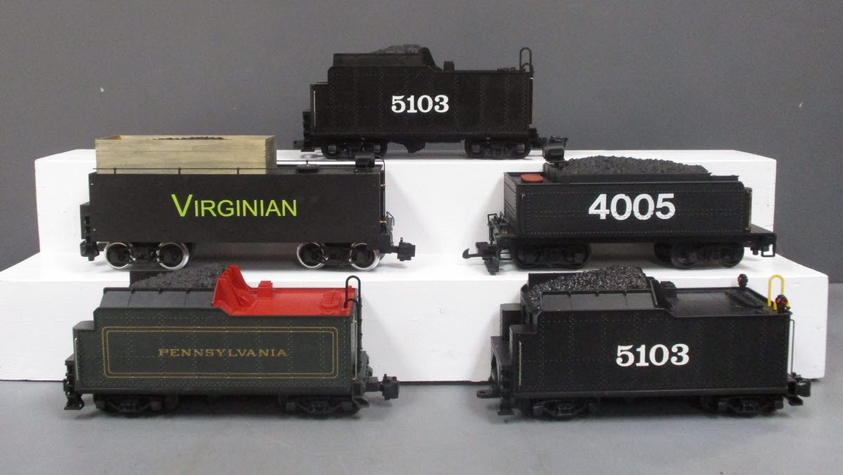 Buy Assorted G Scale Tenders [5] | Trainz Auctions
