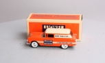 Lionel 303500 Die Cast 1/25 Scale 1955 Chevy Delivery Truck Bank LN/Box