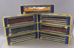 AHM HO Scale Assorted Passenger Cars; 6403, 6407, 6207-C, 6204-C, 6652-02, 6653-