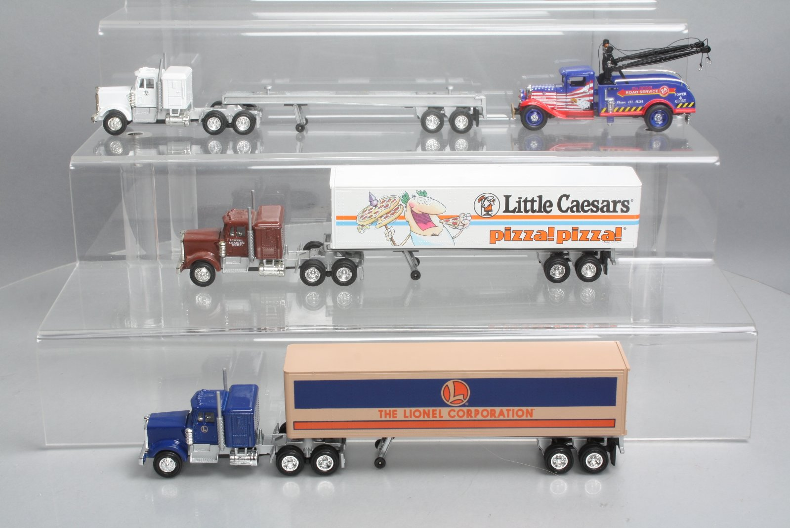 50c43b5bc6c Buy Lionel 6-22973 Tractor Trailer Truck and Little Caesars Tractor ...