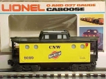 Lionel 6-9289 C&NW N5C Lighted Caboose LN/Box