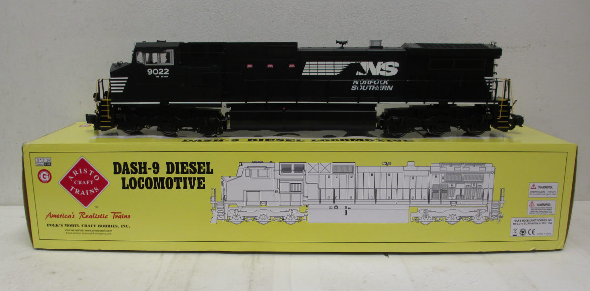 Aristo-Craft 23006 Norfolk Southern Dash-9 Diesel Locomotive #9022 EX/Box 022081230060 Aristo-Craft 23006