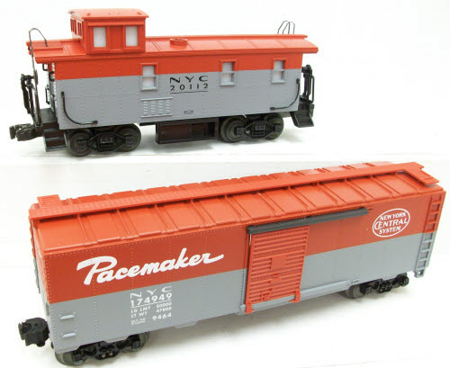 Lionel 6-17246 New York Central Pacemaker 4-Pack Freight Set LN/Box