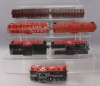 Lionel & Other O Scale Assorted Erie Freight Cars; 6-6464-296, 6-6517-75, 6-8100