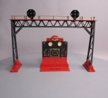Lionel 6-51900 Standard Gauge 440 Signal Bridge and 440C Control Panel Set EX