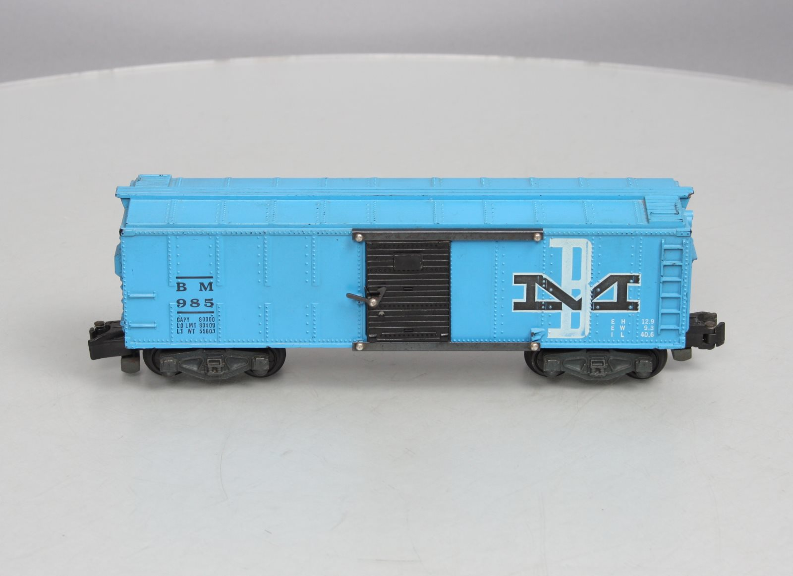 Buy American Flyer 985 Boston & Maine Boxcar | Trainz Auctions