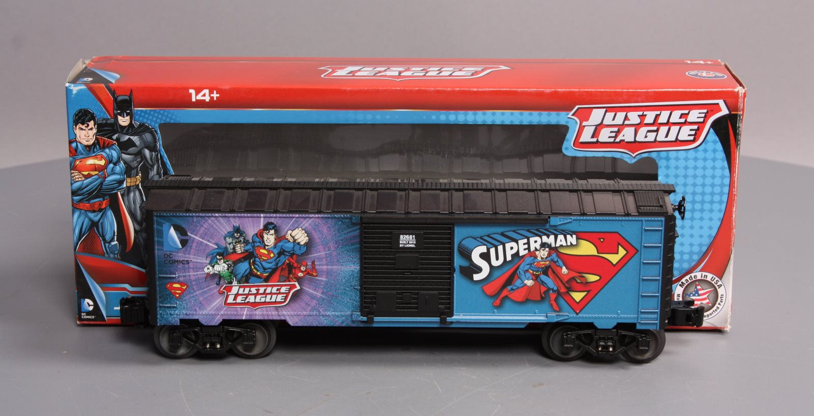 Buy Lionel 6-82681 Justice League - Superman Boxcar LN/Box