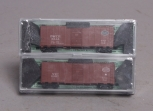 Deluxe Innovations 14020 N Scale New York Central 40' AAR Boxcar (Pack of 2) NIB