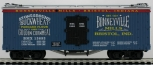 USA Trains 16167 G Bonnyville Mills Refrigerator Car LN/Box