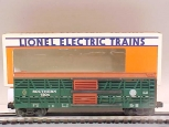 Lionel 6-7304 Southern Double Door Stock Car LN/Box