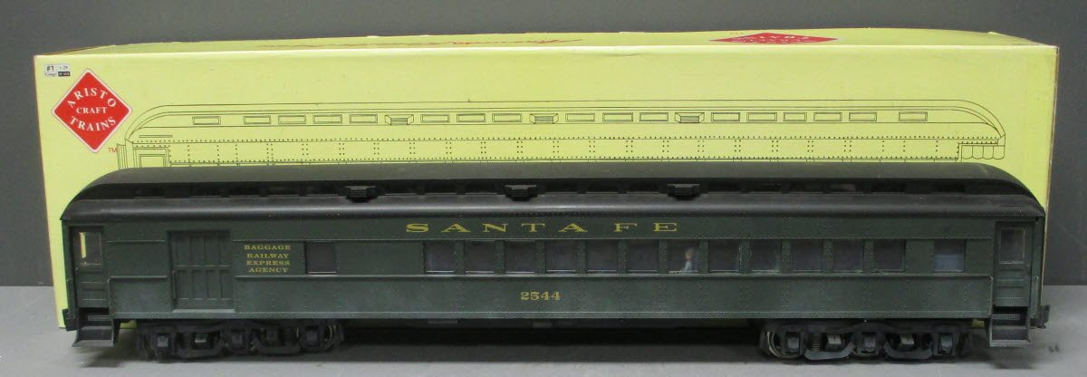 Buy Weathered Aristo-Craft 31711 AT&SF Heavyweight Combine Car/Box