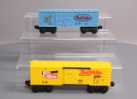 Lionel 6-16219 & 6-16207 True Value Hardware Boxcars (2) EX