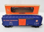Lionel 6-19953 LRRC Orange/Blue Lionel Box Car #6464-97 Railroader Club Boxed