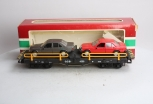 LGB 4059 Flatcar with 2 Mercedes Automobiles EX/Box