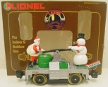 Lionel 8-87203 Operating Santa & Snowman Handcar LN/Box