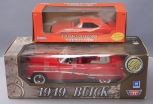Motormax 1:18 Scale 1949 Buick Convertible & Ertl 1:25 Scale General Lee w/o Mar