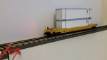 MTH 30-4214C Union Pacific Husky Stack Car w/ END OF TRAIN DEVICE