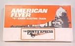American Flyer 6-49600 S Scale Union Pacific Pony Express Passenger Train Set MT