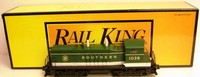 MTH 30-2157-1 Rail King Southern NW-2 Diesel Locomotive #1039 w/PS