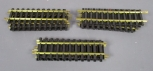 Aristo-Craft Euro Style BRASS 12 Straight Track Sections [18] EX
