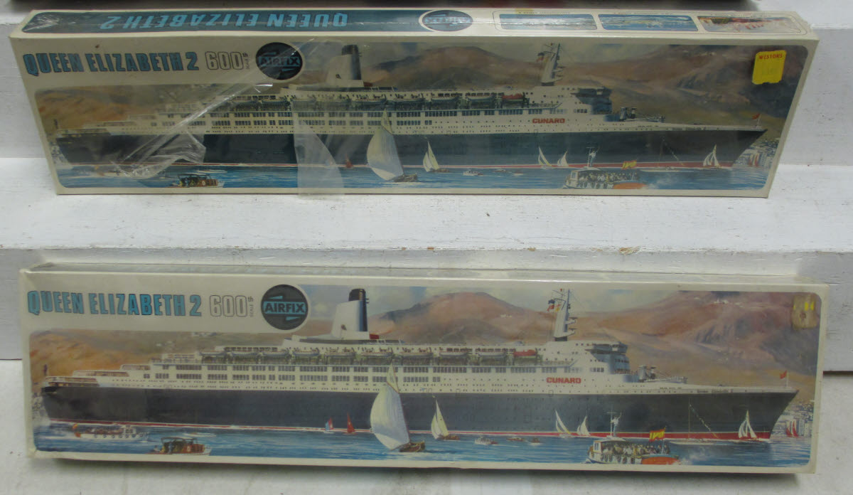 Buy Airfix & Revell 1:600 Scale Model Ship Kits: Queen Mary, QE2