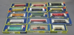 AHM HO Scale Assorted Freight Cars: 5460-15, 5298, 5296, 5472, 15]/Box