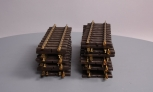 LGB 10000 12 Inch Brass Rail Straight Track Sections (16)
