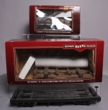 Bachmann & Hartford Products G Scale Assorted Log Cars & Flat Cars (Metal Wheels