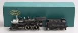 Fujiyama HO Scale Brass SP-T & NO Class E-23 4-4-0 Steam Locomotive & Tender/Box