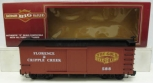 Bachmann 93344 Florence & Cripple Creek Wood Box Car EX/Box