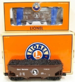 Lionel 6-11855 Great Northern 2-Bay Offset Hopper 2-Pack EX/Box
