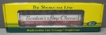 S-Helper 00801 S-Gauge Borden's Fine Cheeses NWX Reefer Car #85353/Box