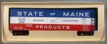 American Models 220 S Scale State of Maine BAR Reefer #2099 NIB