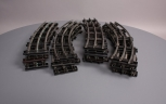 MTH Standard Gauge Curve Track - Mixed Lot