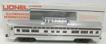 Lionel 6-9573 Pennsylvania  Betsy Ross Aluminum Vista Dome Car LN/Box
