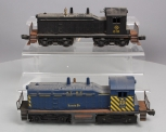 Lionel 610 Erie NW-2 Diesel Switcher & 633 Santa Fe NW-2 Diesel Switcher