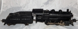 Prewar Lionel 1662 0-4-0 B6 Steam Switcher w/ 2203 slope tender w/light Runs O