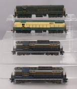 Athearn HO Scale Baltimore & Ohio and Readling Powered Diesel Locomotives [4]