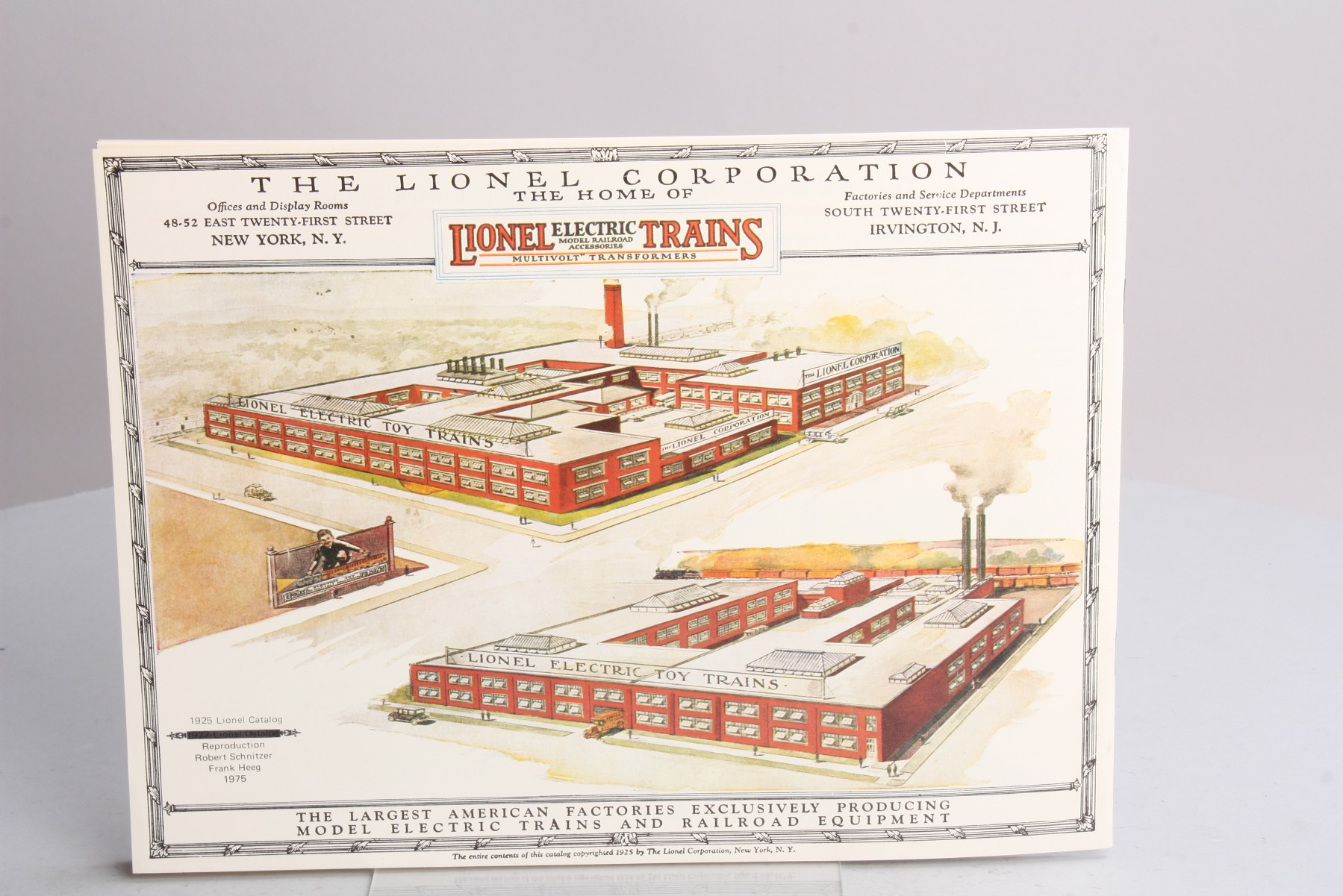 Buy Lionel 1925 Reproduction Consumer Catalog EX | Trainz