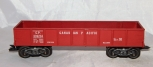 WOW! Hard to find Marx Canadian Pacific 339234 Tuscan Drop End Gondola 8 Wheel
