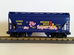 Lionel 6-17014 Golden West Graffiti Covered Hopper GVSR 7000