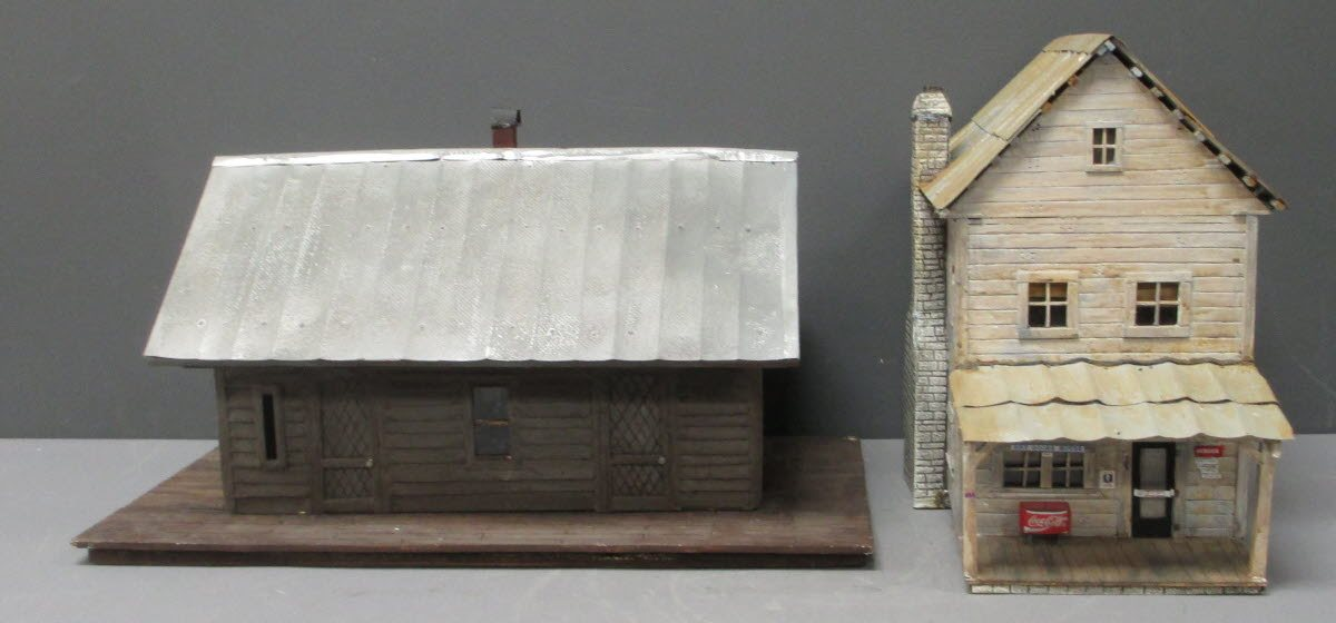 Buy Custom Made G Scale Old Station and General Store [2