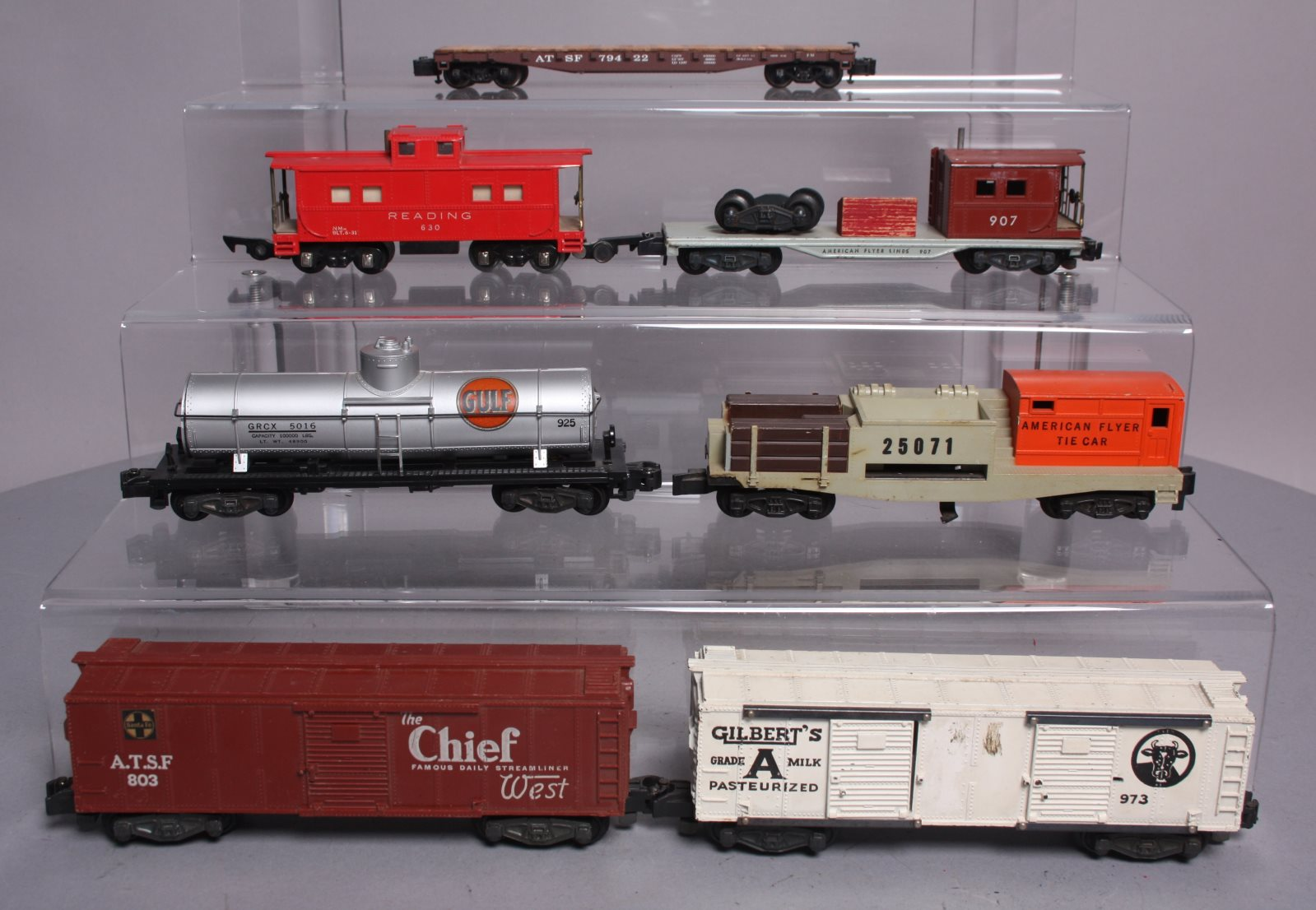 Buy American Flyer S Scale Assorted Postwar Freight Cars [7